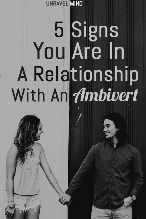 Relationship With An Ambivert