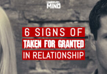 6 Signs of Taken For Granted In Relationship