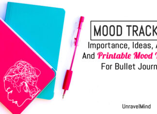 Mood Tracker : Importance, Ideas, Apps, And Printable Mood Tracker For Bullet Journal